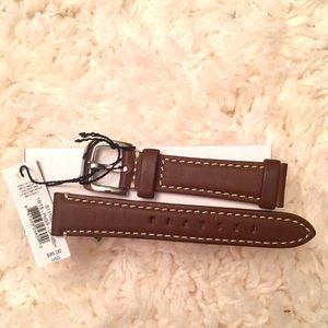 Shinola 18mm watch strap NWT✨